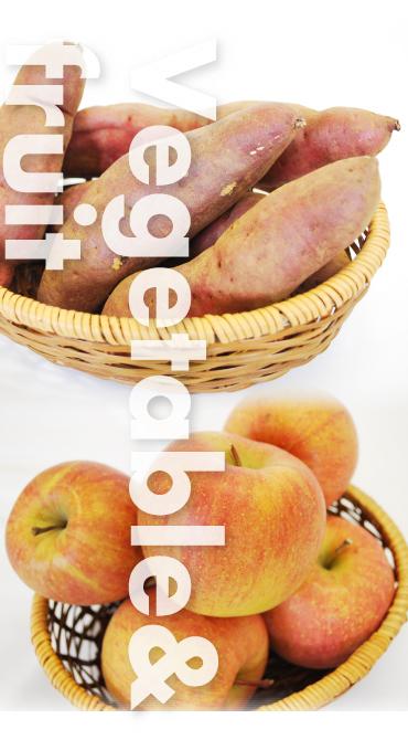 穀物・果物_イメージ
